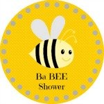 Bee Baby Shower Printables