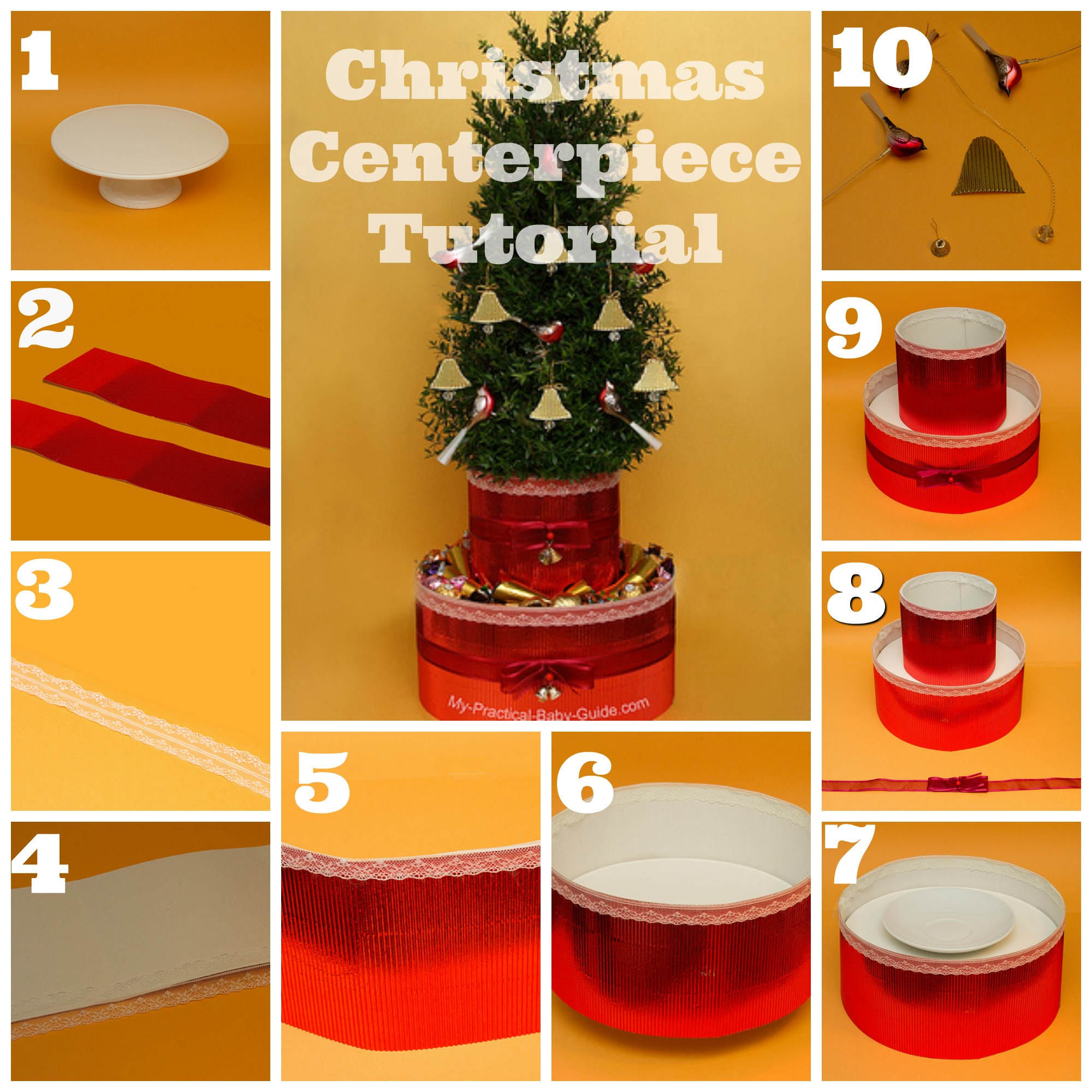 Christmas Tree Centerpiece Tutorial
