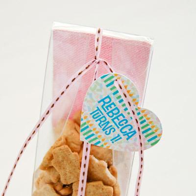 DIY Circus Baby Shower Animal Crackers Favor Box