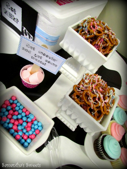 Moo Cow Gender Reveal Baby Shower Ideas