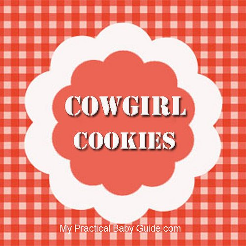Free Printable Cowgirl Cookies Label