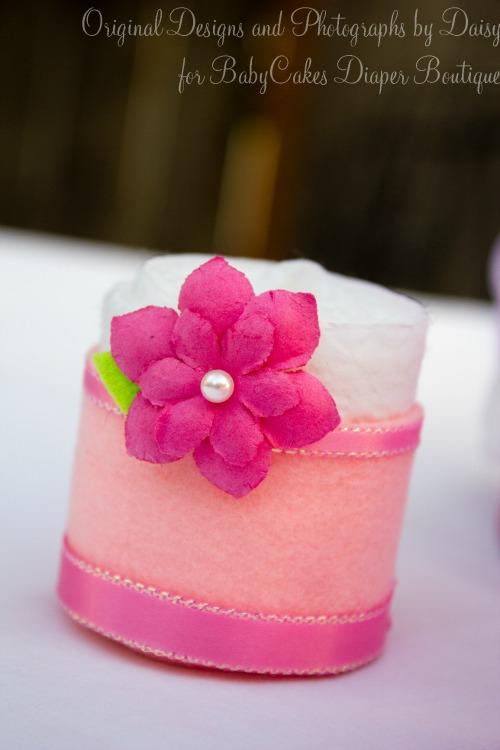 Unique Diaper Cupcakes