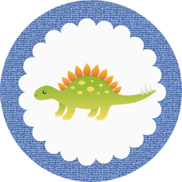 Free Printable Dinosaur Baby Shower Cupcake Toppers