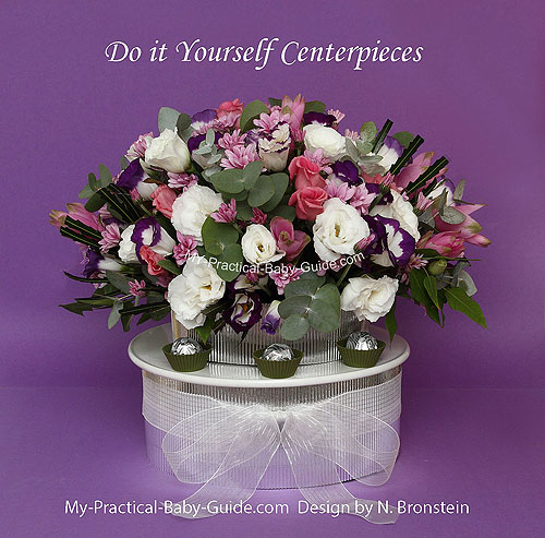 DIY Flower Centerpieces
