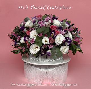 DIY Flower Centerpiece