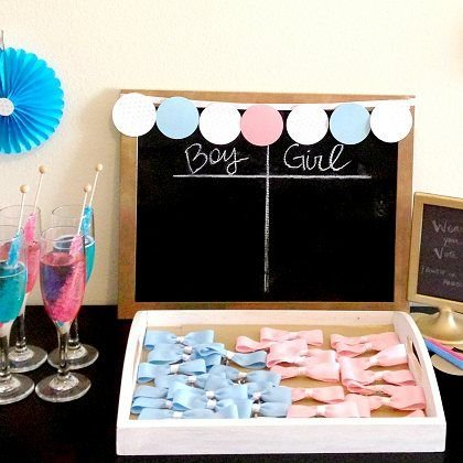 Boy or Girl Baby Shower Game