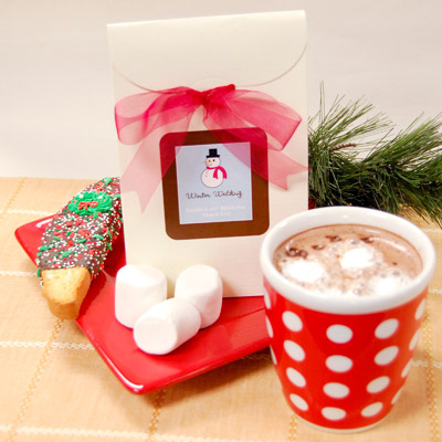 Baby Shower Favors Hot Chocolate hot chocolate favor bag - my practical baby shower guide