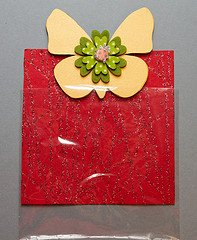 Magnet Wooden Shaped Favor Wrapped with Cellophane