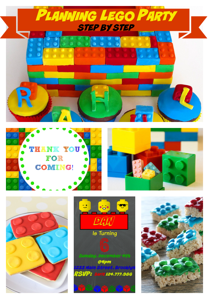 Planning Lego Birthday Party Step by Step