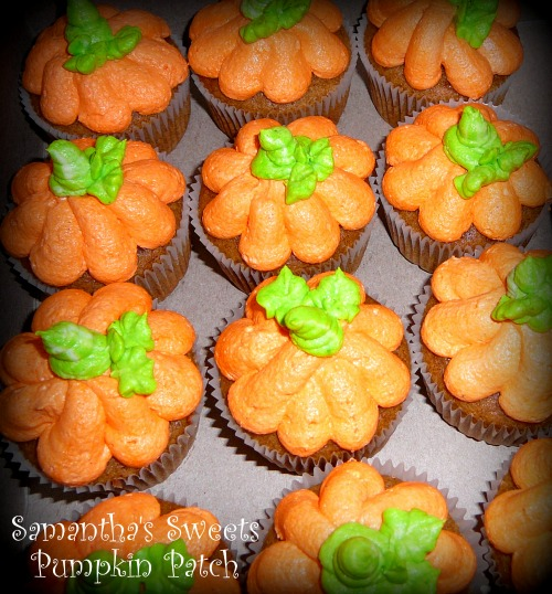 Pumpkin Baby Shower Cupcakes
