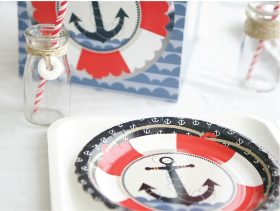 Nautical Baby shower Decoration Idea