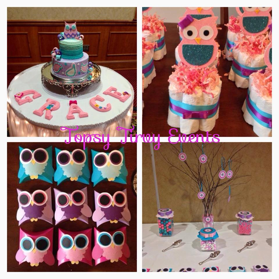 Owl Baby Shower Theme Ideas