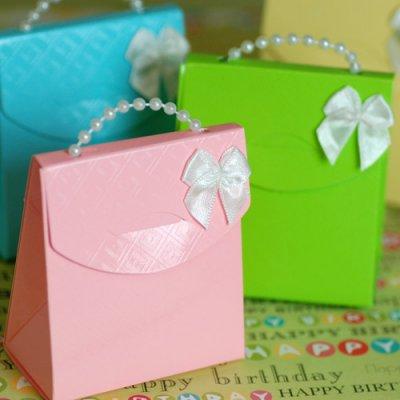 Pearl Handle Favor Bag Kit