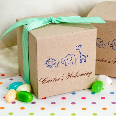 Eco Friendly Baby Shower Favor Box