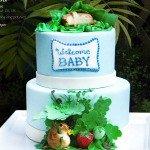 Beatrix Potter Inspired Cake