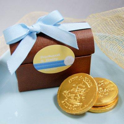 DIY Pirates Baby Shower Treasure Favor Box