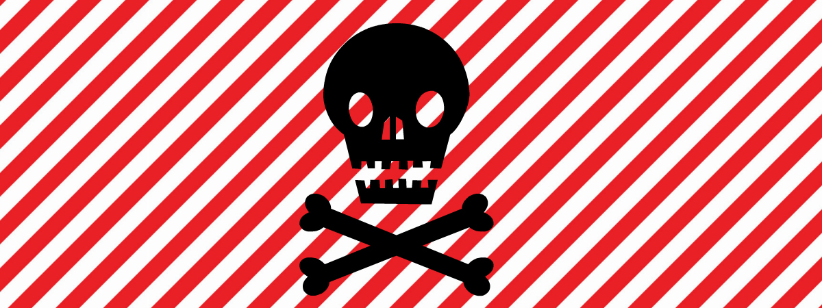 Pirate Can Toss Game Free Printable Label with skull clip art.