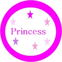 free princess baby shower cupcake toppers