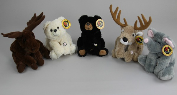 Purr-Fection Stuffed Animals with Flashlights