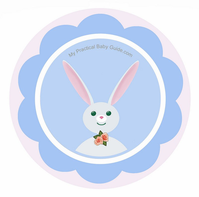 Free Printable Rabbit Boy Cupcake Toppers