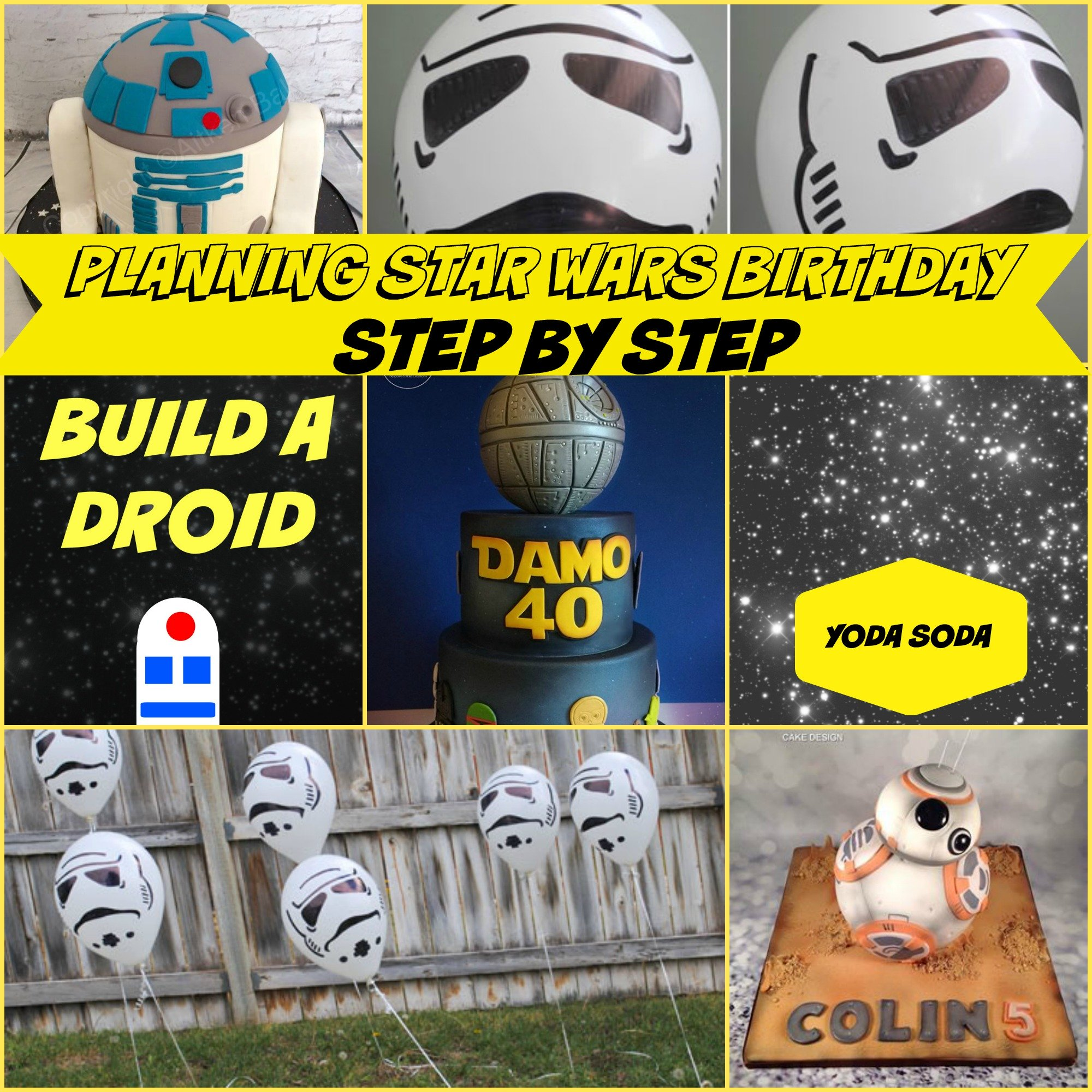 Star Wars Birthday Party Ideas Step by Step
