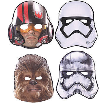 Star Wars Birthday Masks