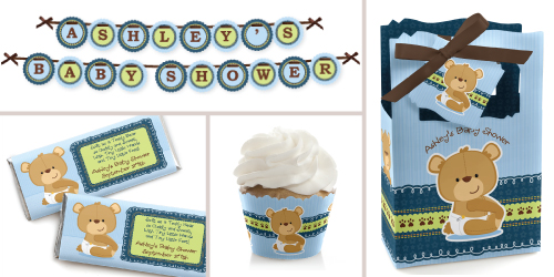 Teddy Bear Baby Shower Supplies Bigdothappiness