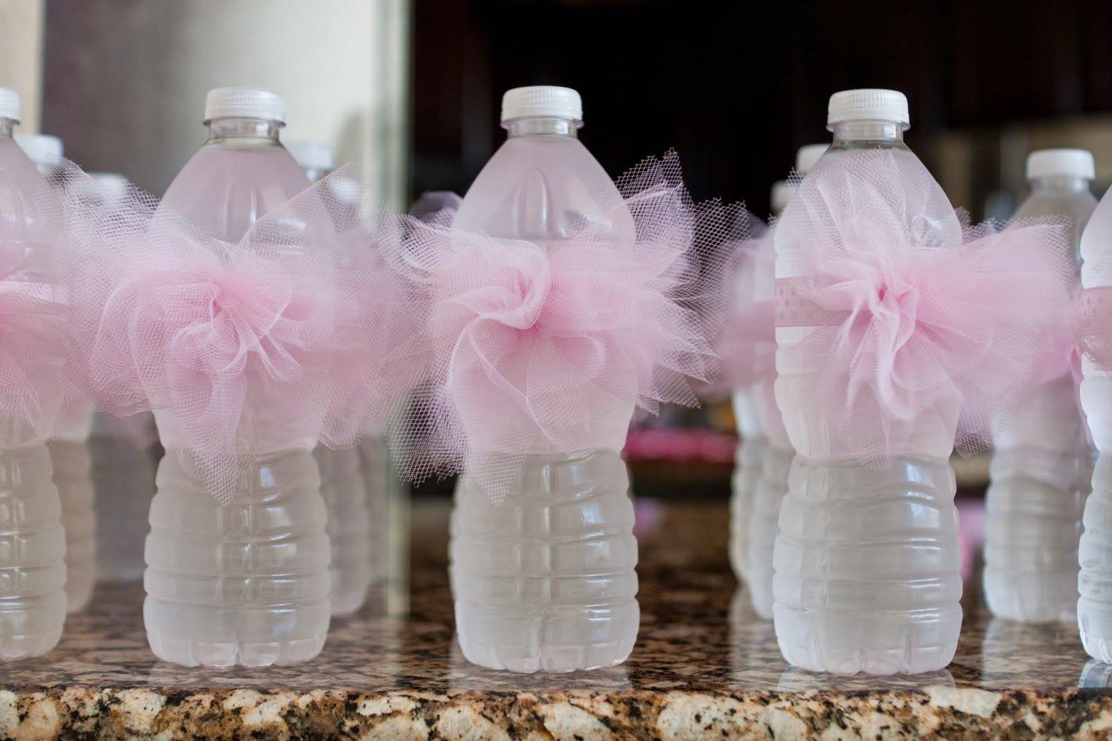 Tutu water bottle labels