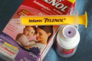 recall of grape Infants' Tylenol