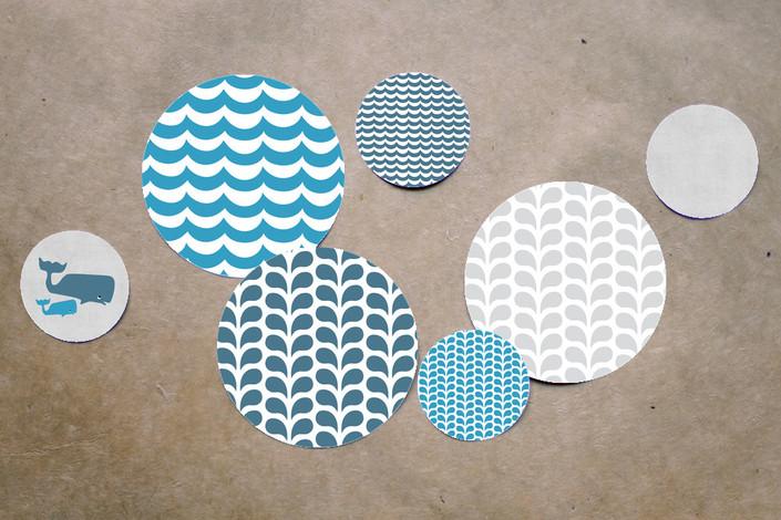 Whale Party Confetti
