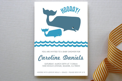 Big whale little whale baby shower my practical baby shower guide whale baby shower invitation filmwisefo