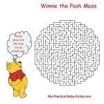 Winnie the Pooh Baby Shower Games